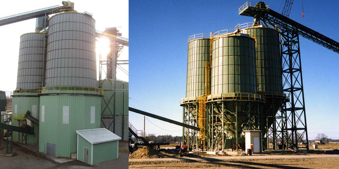 Wellons Biomass Fuel Storage