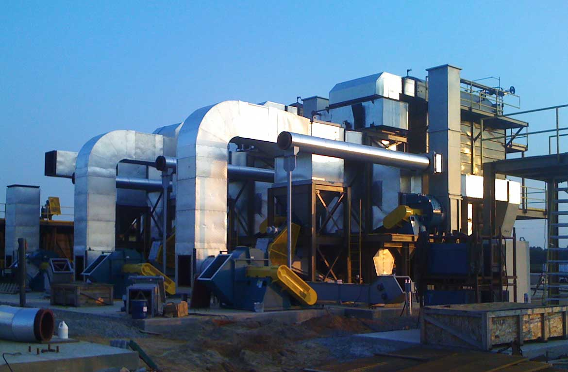 Steam Boiler System Under Construction