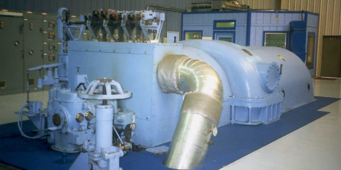 Wellons Electrical Power Generation - Extraction-Condensing Turbine