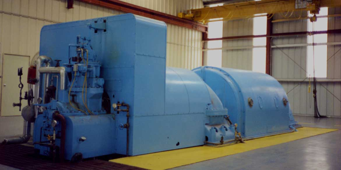 Wellons Electrical Power Generation - Condensing Turbine