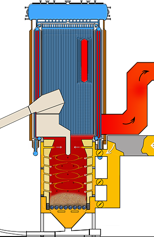 Wellons Panel Boiler Illustration